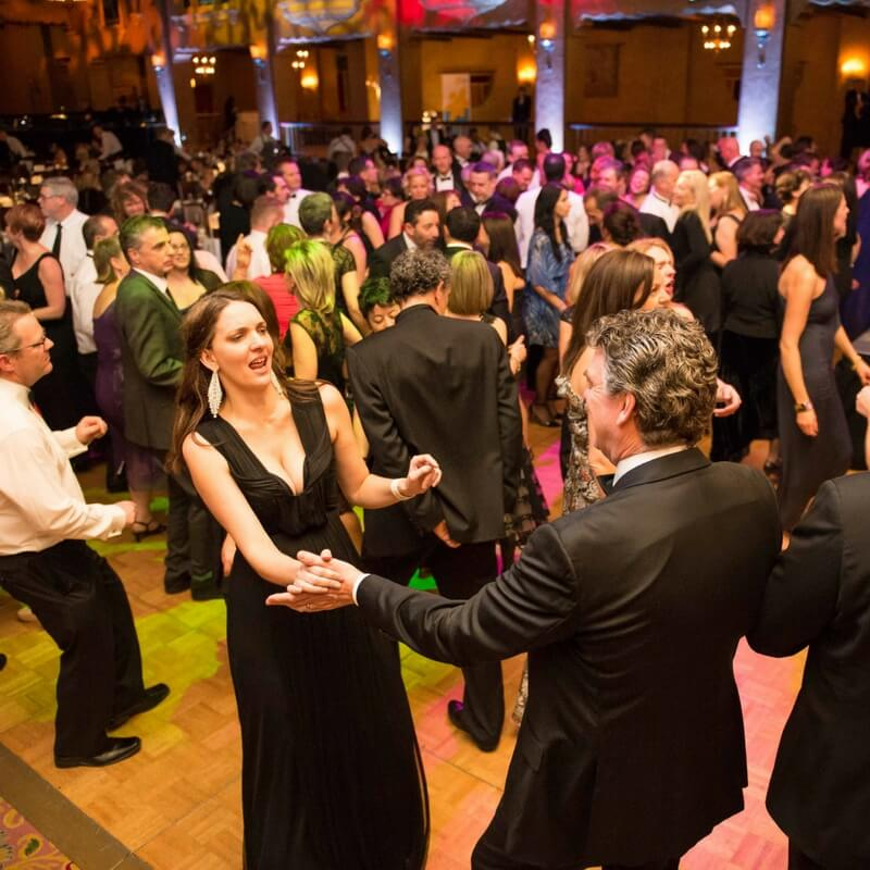People dancing at Tuxedo Junction